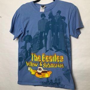 The Beatles Yellow submarine graphic tee